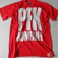 T-Shirt PFK KOMPANY red