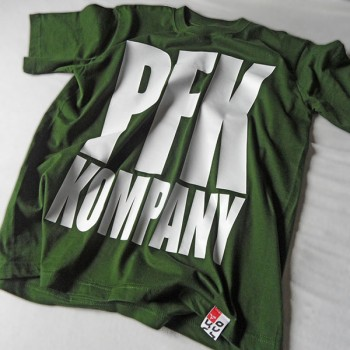 T-Shirt PFK KOMPANY green