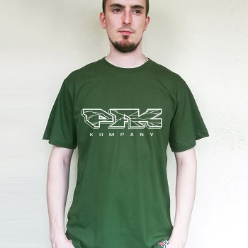 T-Shirt PFK Cracked green