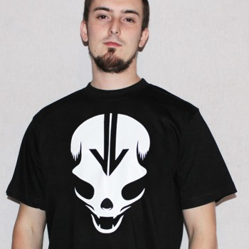 T-Shirt True Skull black