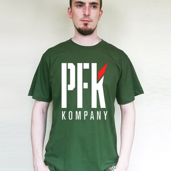 T-Shirt PFK Red Wing green
