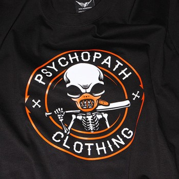 T-shirt Psychopath bad boy black