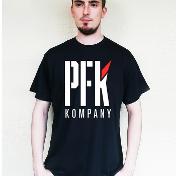T-Shirt PFK Red Wing black